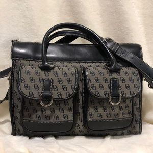 Dooney and Bourke signature canvas Convertible bag